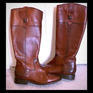 Frye Wide Calf Riding Boots